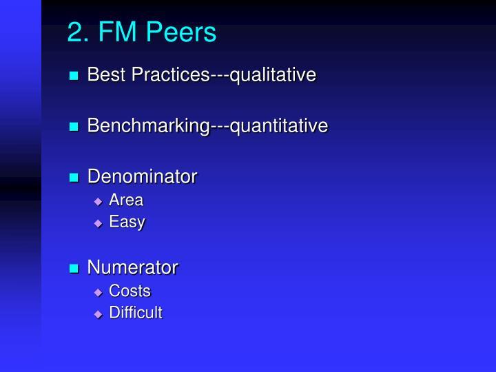 2. FM Peers