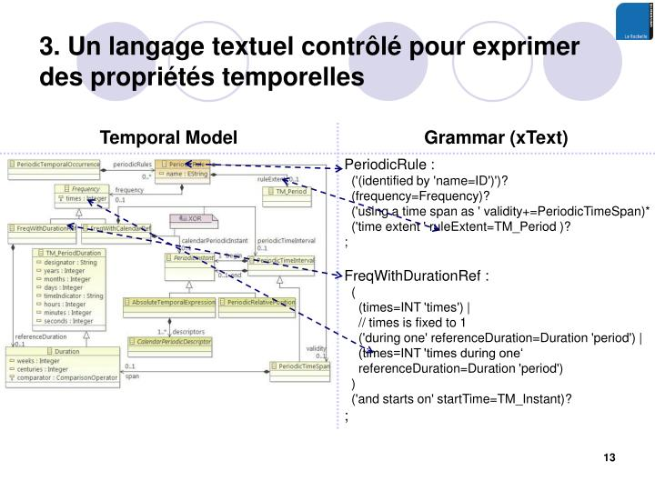 3. Un langage textuel contrôlé pour exprimer des propriétés temporelles