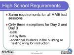 high school requirements1