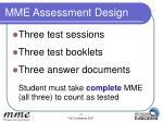 mme assessment design3