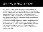 568 775 or private no api