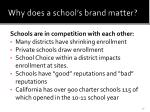 why does a school s brand matter