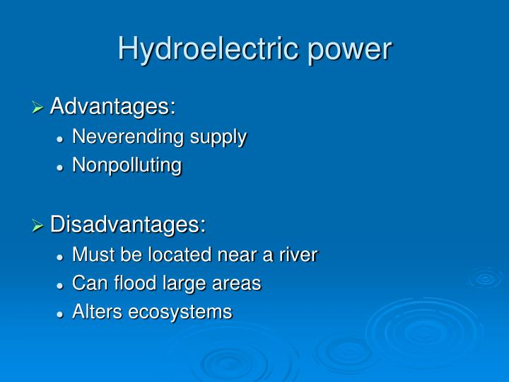 Hydroelectric Energy Advantages Disadvantages Image Mag : hydroelectric power n from imagemag.ru size 720 x 540 jpeg 35kB