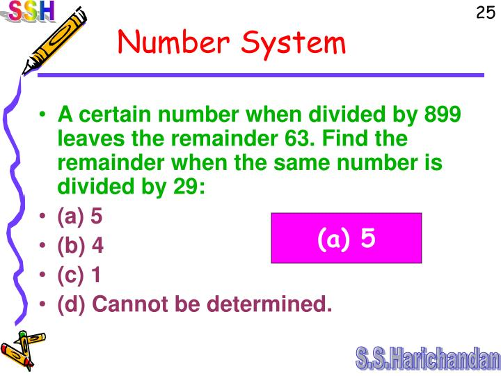 A certain number when divided by 899 leaves the remainder 63. Find the remainder when the same number is divided by 29: