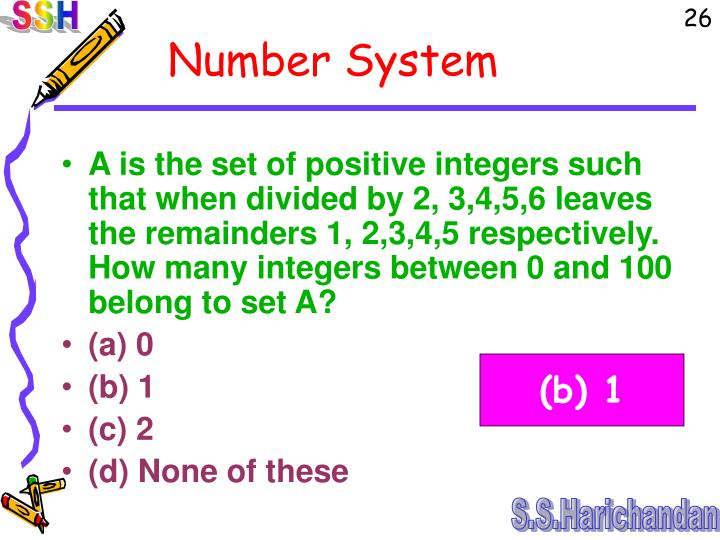 A is the set of positive integers such that when divided by 2, 3,4,5,6 leaves the remainders 1, 2,3,4,5 respectively. How many integers between 0 and 100 belong to set A?