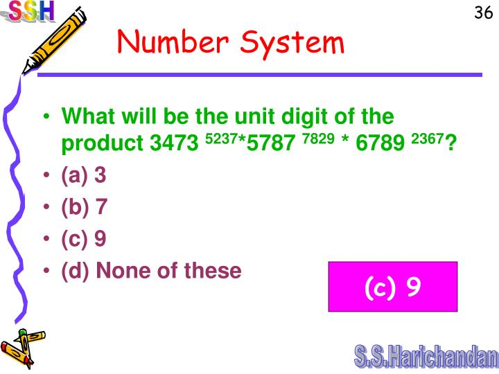 What will be the unit digit of the product 3473