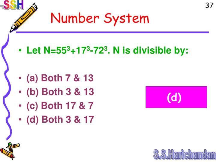 Let N=55