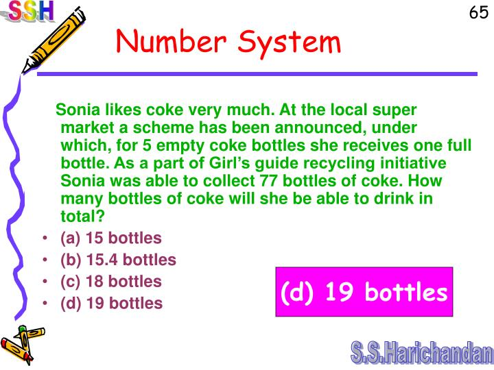 Sonia likes coke very much. At the local super market a scheme has been announced, under which, for 5 empty coke bottles she receives one full bottle. As a part of Girl's guide recycling initiative Sonia was able to collect 77 bottles of coke. How many bottles of coke will she be able to drink in total?
