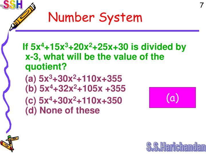 If 5x