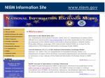 niem information site www niem gov