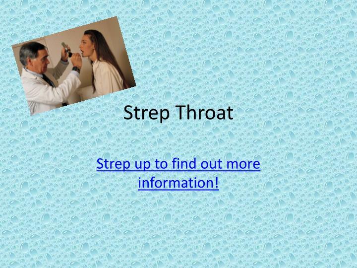 Strep Throat