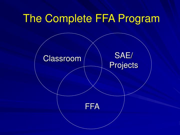The Complete FFA Program