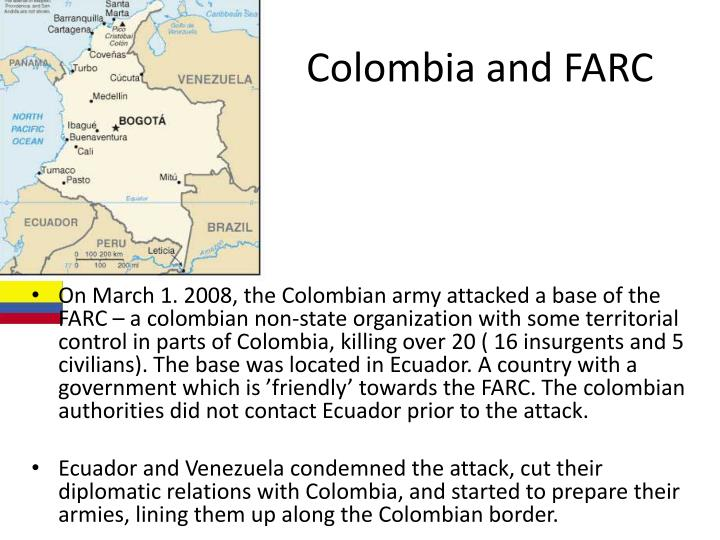 Colombia and FARC
