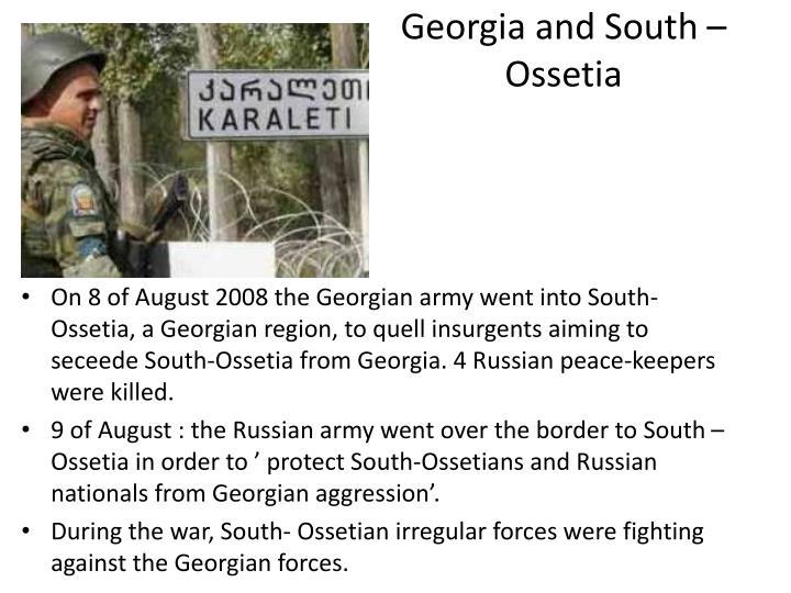 Georgia and South