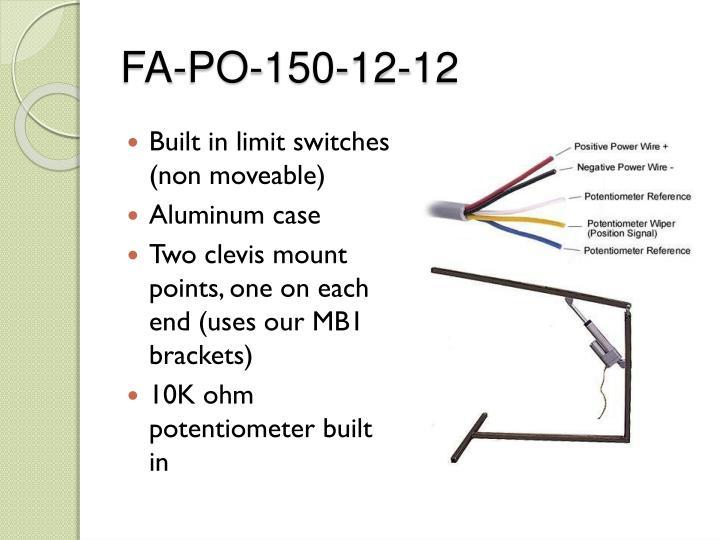 FA-PO-150-12-12