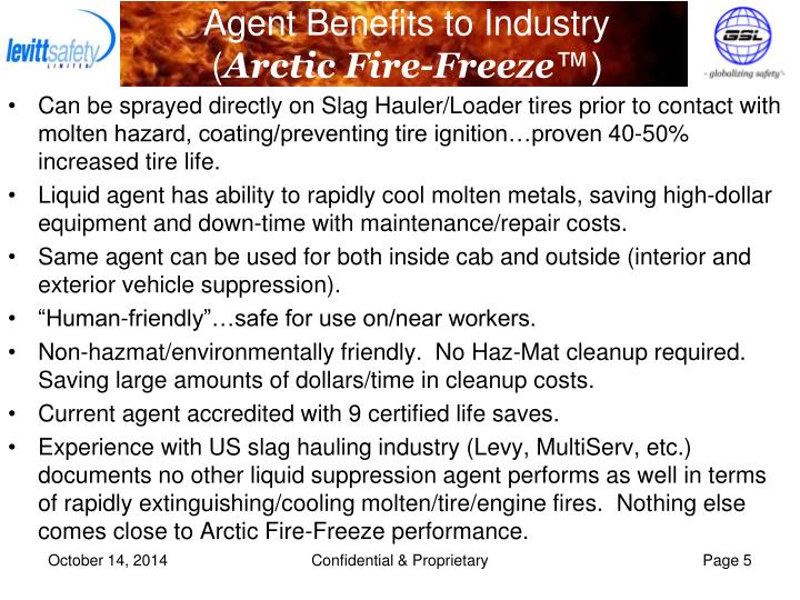 Agent Benefits to Industry