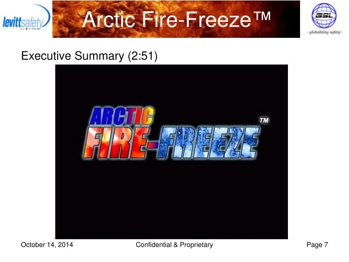 Arctic Fire-Freeze™