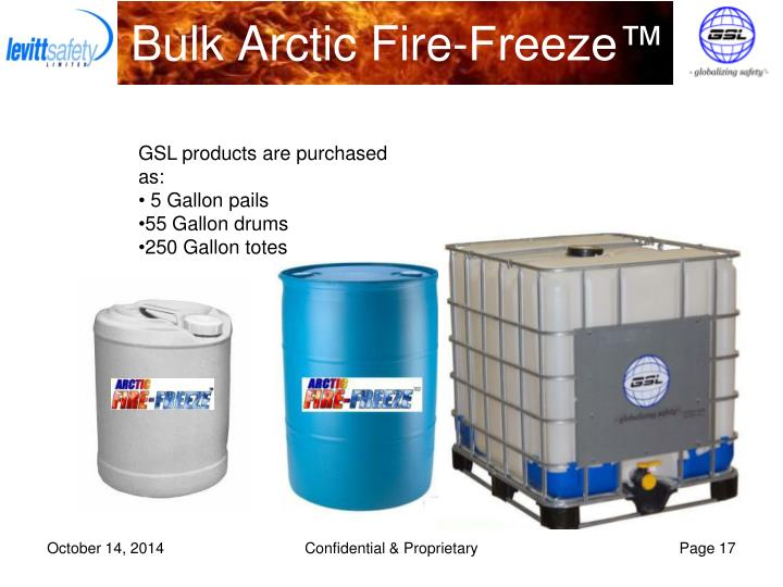 Bulk Arctic Fire-Freeze™