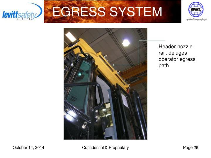 EGRESS SYSTEM