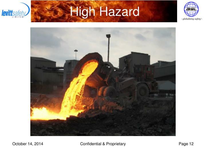 High Hazard