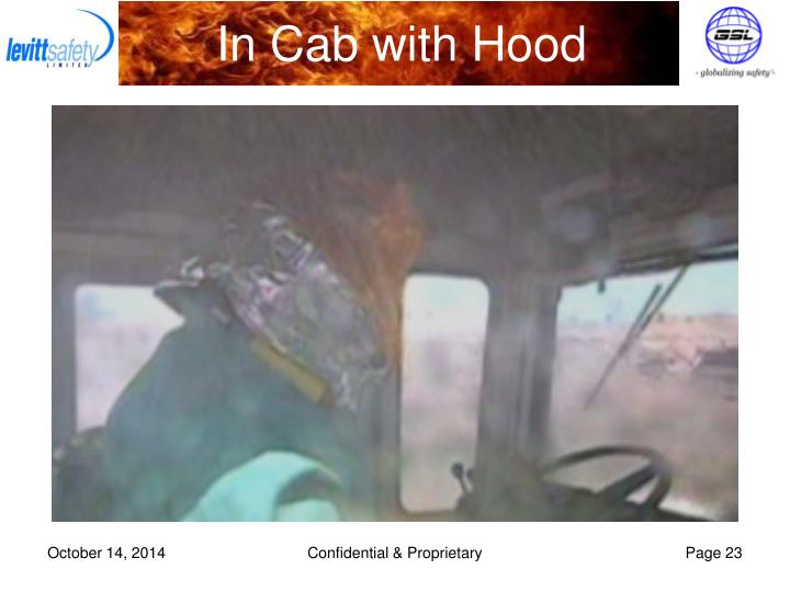 In Cab with Hood