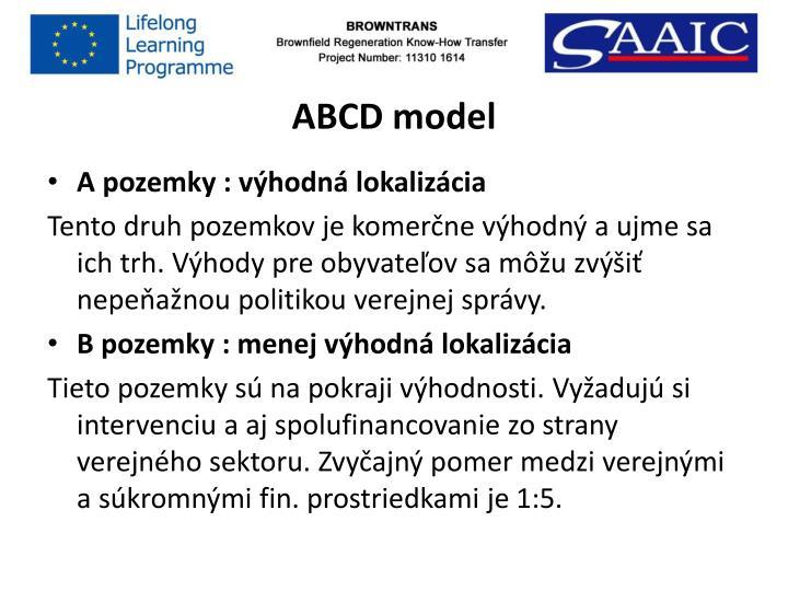 ABCD model