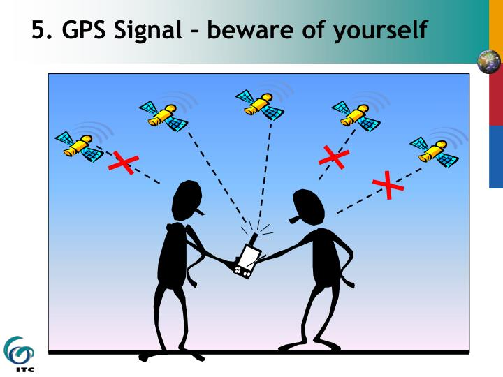 5. GPS Signal – beware of yourself
