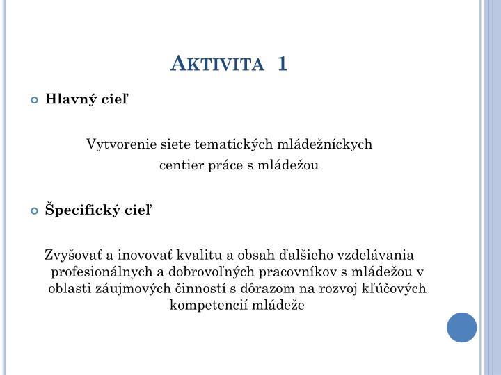 Aktivita  1