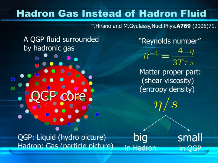 Hadron Gas Instead of Hadron Fluid