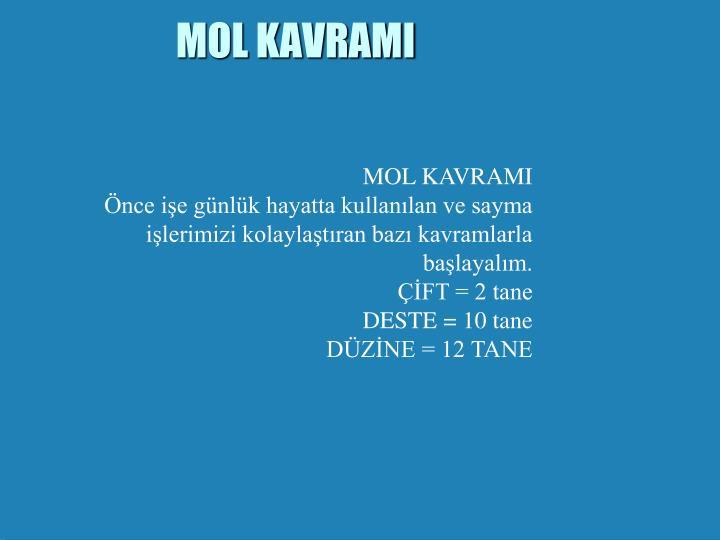 MOL KAVRAMI