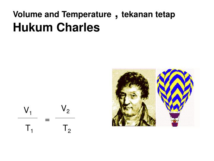 Volume and Temperature
