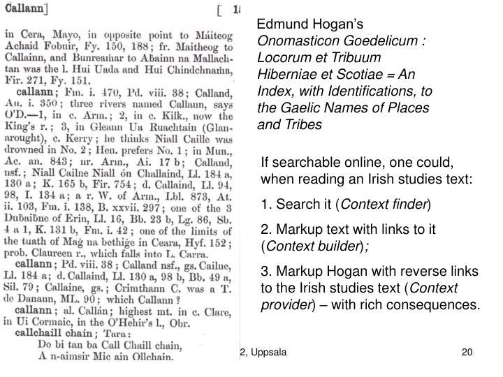 Edmund Hogan's