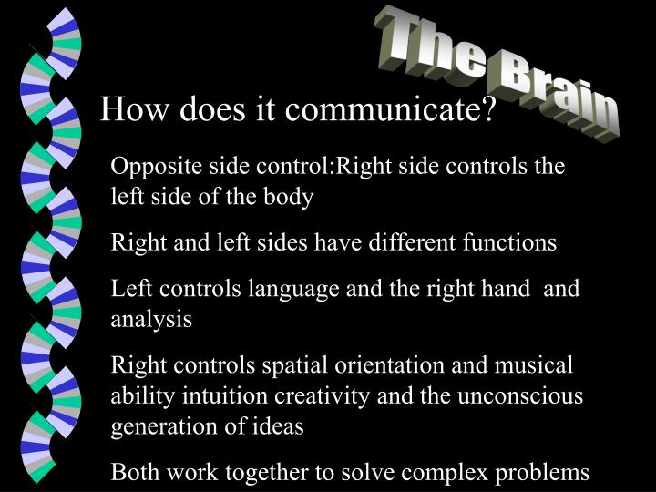 How does it communicate?