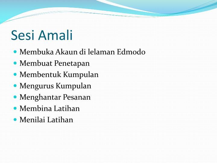 Sesi Amali
