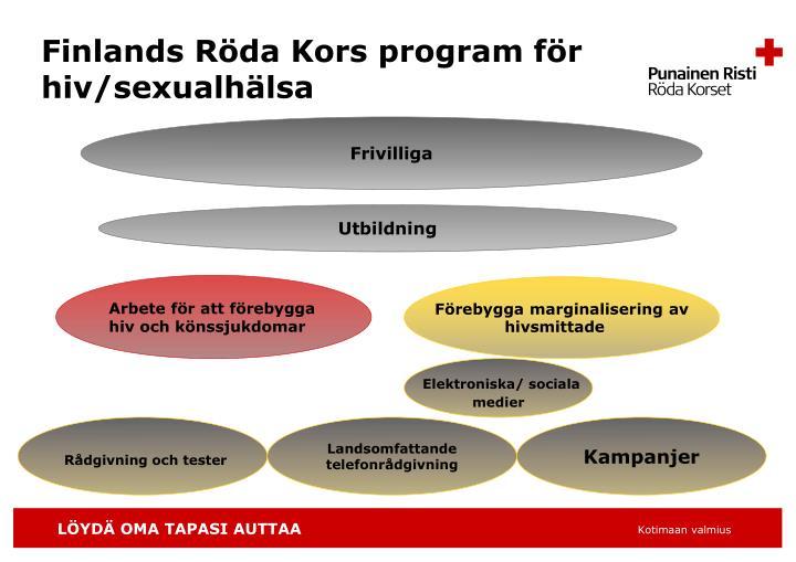 Finlands Röda Kors program för hiv/sexualhälsa