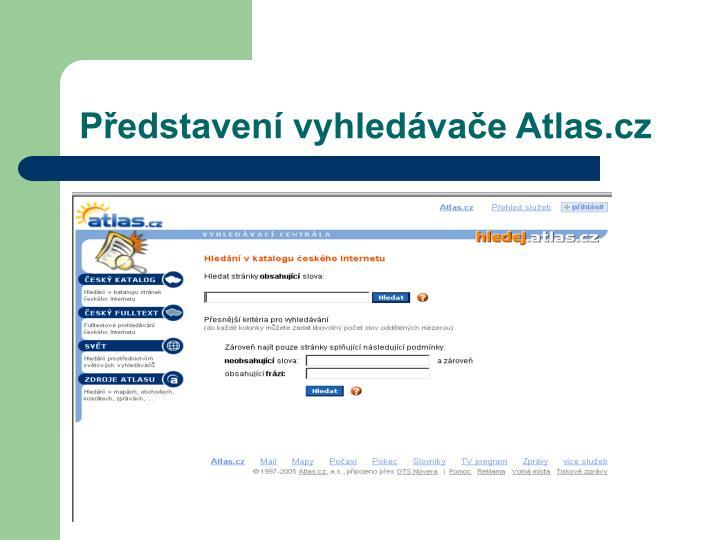 Představení vyhledávače Atlas.cz