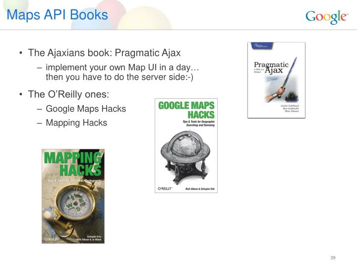 Maps API Books