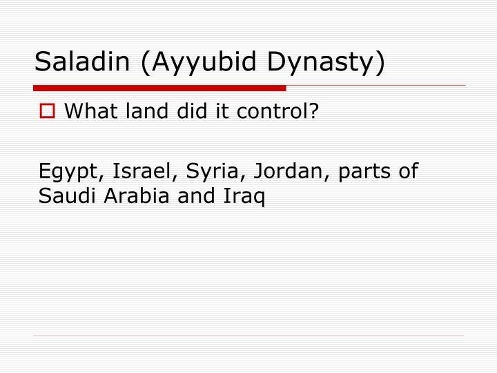 Saladin (Ayyubid Dynasty)