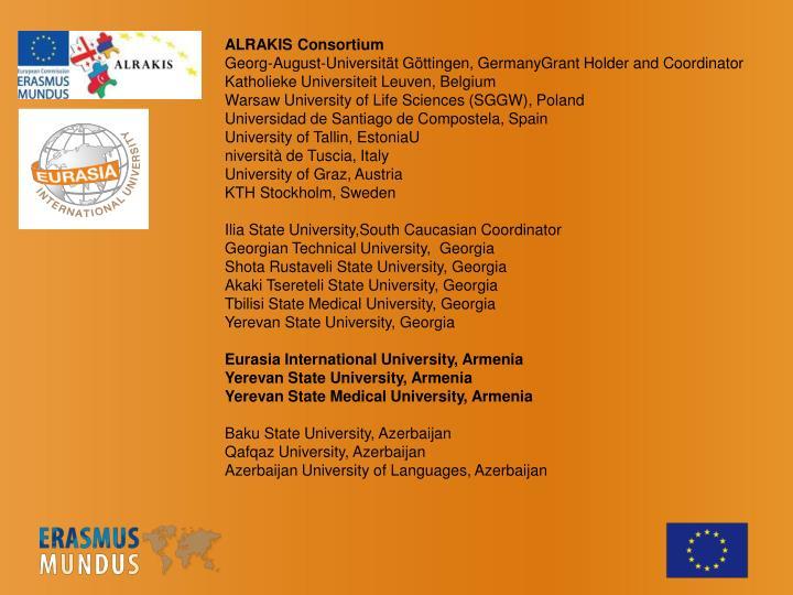 ALRAKIS Consortium