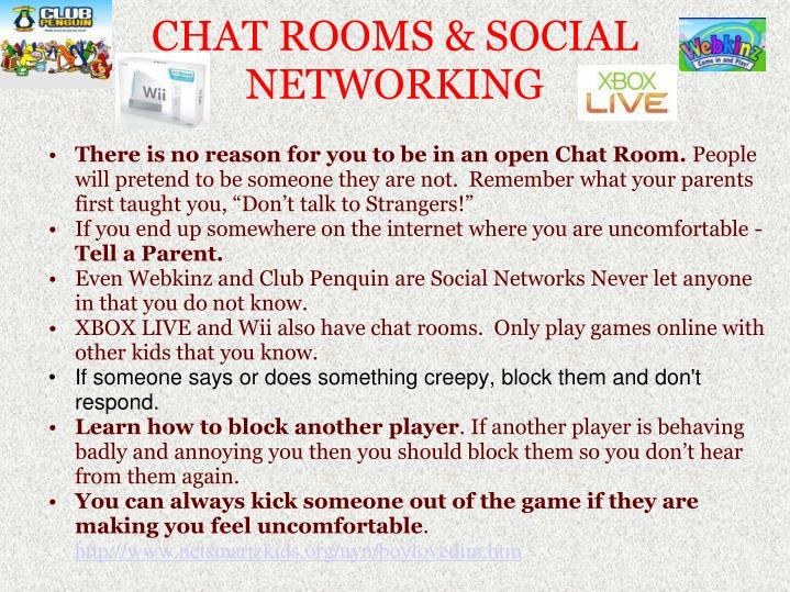 social chat rooms