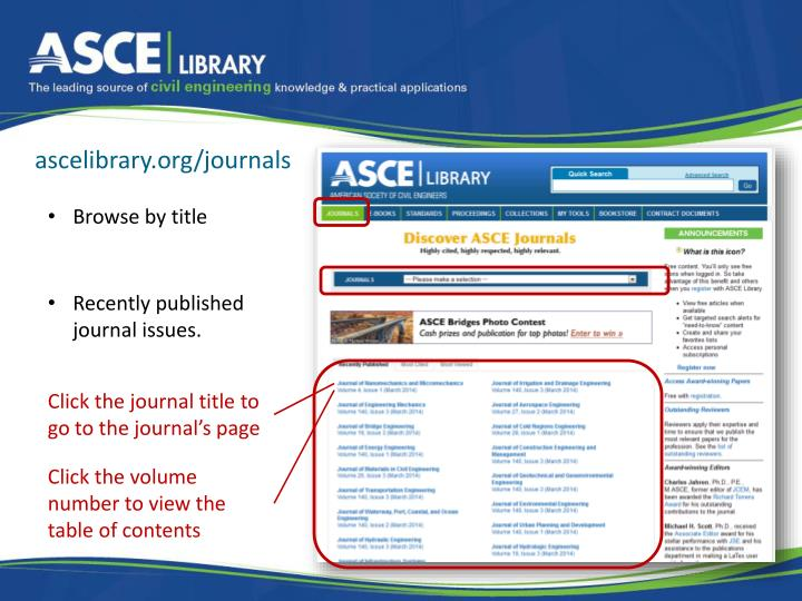 ascelibrary.org/journals