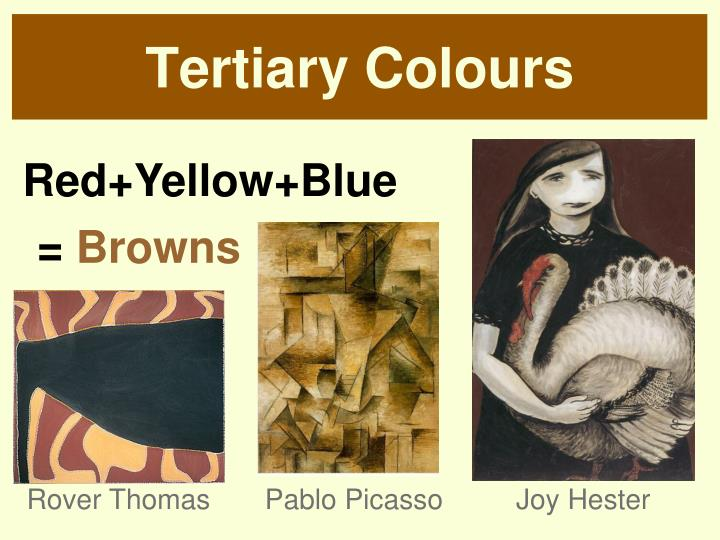 Tertiary Colours