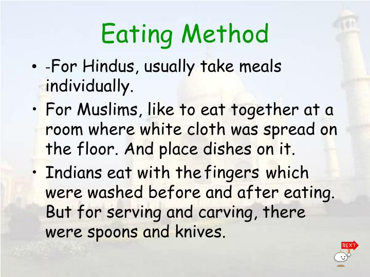 Eating Method