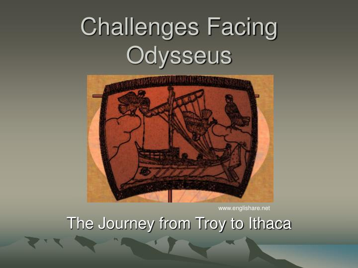 odysseus obstacles The odyssey, written by homer, shows many triumphs and frustrations of human life odysseus, the hero, endures battles and obstacles on his twenty year journey home there is tragedy and victory throughout inevitably, some of.