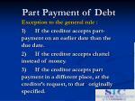 part payment of debt4