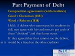 part payment of debt9