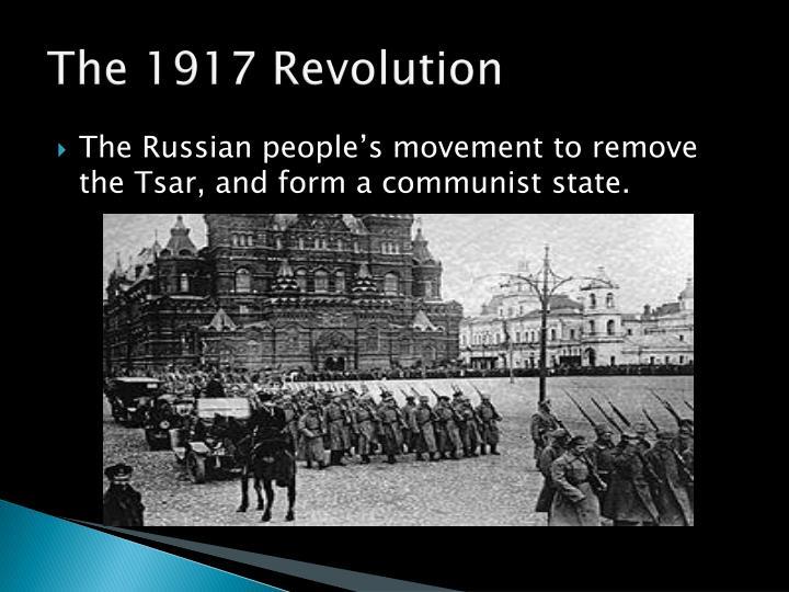 The 1917 Revolution
