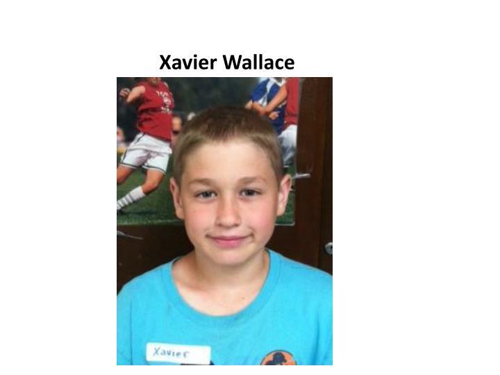 Xavier Wallace
