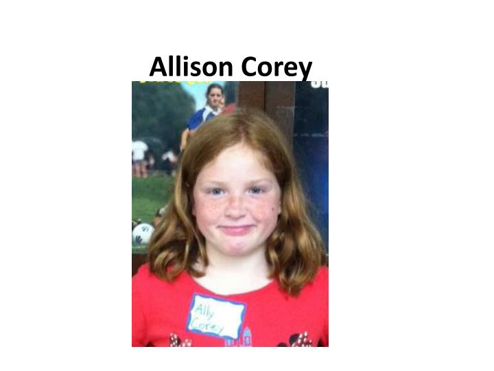 Allison Corey