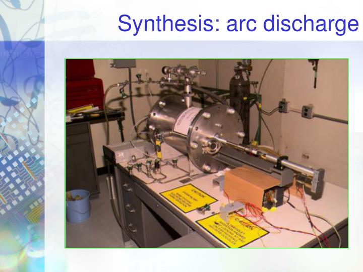 Synthesis: arc discharge